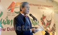Vietnamesische Botschaft feiert den 45. Jahrestag der Beziehungen zwischen Vietnam und Indien