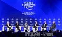 Abschluss des Weltwirtschaftsforums in Davos