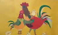 Das Jahr des Hahns und die Geschichte über den Hahn