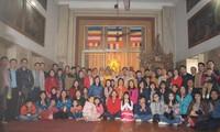Gebet zum Neujahr der vietnamesischen Gemeinschaft in Indien