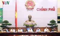Regierungssitzung im Januar 2017