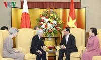 Kaiser und Kaiserin Japans werden die Stadt Hue besuchen