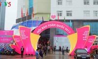 Eröffnung des Nationalfests der vietnamesischen Presse