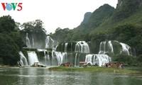 Wasserfall Ban Gioc - der größte Naturwasserfall in Südostasien