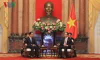 Staatspräsident Tran Dai Quang emfängt den Chef der chinesischen Nachrichtenagentur Xinhua