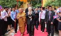 Beziehungen zwischen Vietnam und Kambodscha stabil und nachhaltig entwickeln