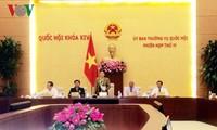 Eröffnung der 13. Sitzung des Ständigen Parlamentsausschusses