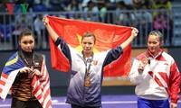 Zwei Goldmedaillen für vietnamesische Wushu bei den 29. Südostasien-Spiele