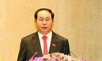 Staatspräsident Tran Dai Quang schickt Glückwunsch zum AIPA-38