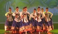 Eröffnung des internationalen Tanzfestivals