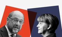 Deutsche Wahlberechtigte beginnen die Abstimmung für Bundestagswahl 2017