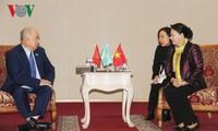 Parlamentspräsidentin Nguyen Thi Kim Ngan beendet den Besuch in Kasachstan