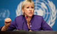 Premierminister Nguyen Xuan Phuc empfängt schwedische Außenministerin