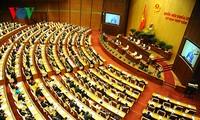 Vierte Sitzung des Parlaments: Erneuerung, Demokratie und Effektivität