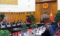 Premierminister Nguyen Xuan Phuc tagt mit Behörden der Provinzen An Giang und Lao Cai
