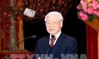 KPV-Generalsekretär beglückwünscht Mitarbeiter des ZK-Büros zum Tetfest
