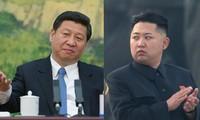 Chinas Staatspräsident führt Gespräch mit dem nordkoreanischen Staatschef