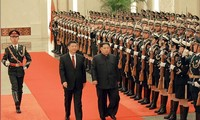 Nordkoreas Staatschef Kim Jong-un besucht China