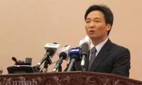 Pressekonferenz nach der Regierungssitzung im März