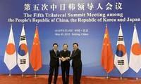 China, Japan und Südkorea diskutieren über die Lage in der Region