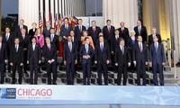 Nato-Gipfeltreffen ist in Chicago eröffnet worden