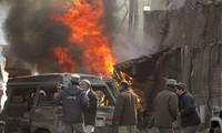 Bombenanschlag in Afghanistan und in Irak