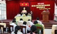 Abgeordnete informieren Bürger über wichtige Ereignisse des Landes