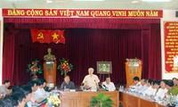 KPV-Generalsekretär Nguyen Phu Trong besucht Binh Thuan