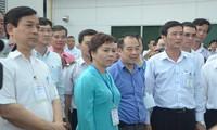 Übung gegen Ebola-Epidemie auf Flughafen Tan Son Nhat