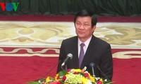 Staatspräsident Truong Tan Sang: Unternehmen sollen reformieren