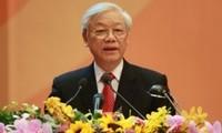 KPV-Generalsekretär Nguyen Phu Trong wird Südkorea besuchen