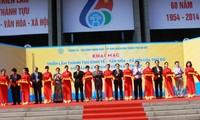 Ausstellung über die wirtschaftliche, kulturelle und soziale Erfolge Hanois in vergangenen 60 Jahren