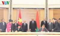 Vietnam und Weißrussland wollen Beziehungen und Zusammarbeit vertiefen
