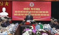 Parlamentspräsident Nguyen Sinh Hung beim Staatsrechungshof