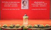 Veranstaltungen zum 125. Geburtstag des Präsidenten Ho Chi Minh