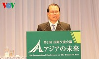 "Vizepremierminister Vu Van Ninh nimmt an Konferenz ""Zukunft Asiens"" teil"