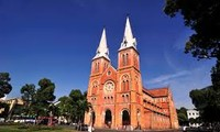 Notre-Dame-Kathedrale in Ho Chi Minh Stadt