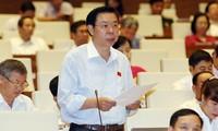 Parlament diskutiert den geänderten Entwurf des Strafgesetzbuches