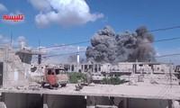 Russische Luftwaffe zerstört wichtige Einrichtungen des IS in Syrien