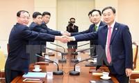 Südkorea ist bereit, mit Nordkorea über alle Probleme zu diskutieren