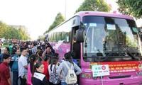 Hanoi bringt Arbeiter kostenlos zu ihren Familien