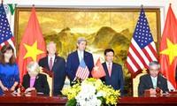 Außenminister Pham Binh Minh trifft US-Amtskollegen John Kerry
