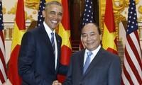 Premierminister Nguyen Xuan Phuc empfängt US-Präsident Barack Obama