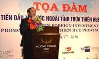 Forum über ausländische Investition in Thua Thien-Hue