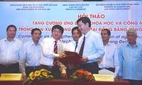 Anwendung der Technologien in der Produktion und im Handel im vietnamesischen Mekong-Delta