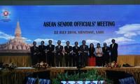Eröffnung der Konferenz der hochrangigen Beamten der ASEAN in Laos