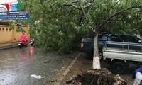Taifun Nida soll in der Nacht zu Montag das Ostmeer erreichen