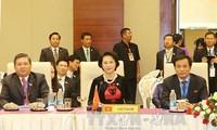 Parlamentspräsidentin Nguyen Thi Kim Ngan nimmt an AIPA-Sitzung in Myanmar teil