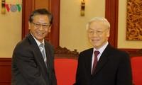 KPV-Generalsekretär Nguyen Phu Trong empfängt Japans Botschafter