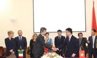 Vietnam und Italien arbeiten im Bereich Justiz und Gesetzgebung zusammen